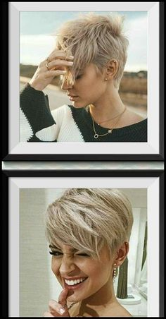 Stylish Pixie Haircuts Every Women Should See. We collect really attractive modern blonde pixie cuts, layered long bangs pixies, thick hair styles Short Hair Cuts, Short Hair Styles, Short Beard, Cute Pixie Haircuts, Blonde Pixie Haircut, Blonde Pixie Hairstyles, Women Pixie Haircut, Undercut Pixie Haircut, Beard Haircut
