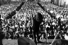 Not published in LIFE. The Doors perform at New York City's Fillmore East in 1968.