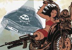 Grindhouse. Planet Terror/ Death Proof.