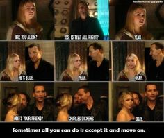 Rose Tyler. Found on FB. Probably a repost.. sometimes all gnu can do it accept it and manure an.