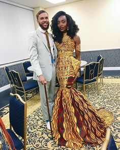 African Print Prom Dresses To Spice Up Your Special Day African Attire, African Wear, African Women, African Dress, African Style, Ankara Dress, African Theme, African Formal Dress, African Clothes