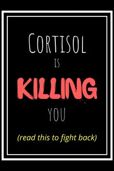 What is cortisol? You may be unaware of the natural presence of cortisol in your body, but you should probably be aware of the effects of chronically elevated levels of this steroid hormone. Reducing Cortisol Levels, High Cortisol, Adrenal Health, Adrenal Fatigue, Adrenal Diet, Foods To Balance Hormones, Cushing Disease, Steroid Hormone, Menopause Diet