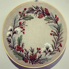 Hand Embroidery Tutorial, Hand Embroidery Flowers, Flower Embroidery Designs, Embroidery Hoop Art, Hand Embroidery Patterns, Cross Stitch Embroidery, Flower Patterns, Embroidery Works, Quilt Patterns