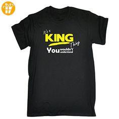 Its A Surname Thing  Jungen T-Shirt, Slogan Gr. Medium, Schwarz - Schwarz - Shirts mit spruch (*Partner-Link)