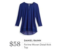 Daniel Rainn top. I love Stitch Fix! A personalized styling service and it's amazing!! Simply fill out a style profile with sizing and preferences. Then your very own stylist selects 5 pieces to send to you to try out at home. Keep what you love and return what you don't. Only a $20 fee which is also applied to anything you keep. Plus, if you keep all 5 pieces you get 25% off! Free shipping both ways. Schedule your first fix using the link below! #stitchfix @stitchfix. Stitchfix Fall 2016…