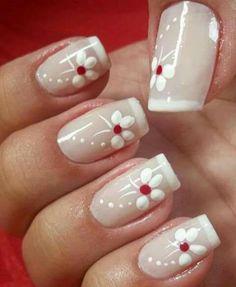 Elegant Nails, French Nails, Beauty Nails, Pedicure, Acrylic Nails, Nail Designs, Nail Art, Mary, Makeup