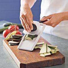 OXO Handheld Flat Slicer #williamssonoma Great for making Zucchini Lasagna...