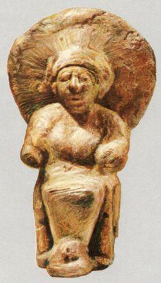The Hittites, The Goddess, Alacahöyük (Kurt Bittle) (Erdinç Bakla archive)