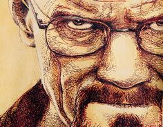 """Check out new work on my @Behance portfolio: """"Breaking bad - Walther White"""" http://be.net/gallery/36799791/Breaking-bad-Walther-White"""