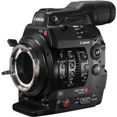Canon C300 Mark II Cinema EOS Camcorder with Dual Pixel CMOS (PL Lens Mount - B&H