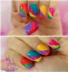 Spring/Summer 2014 nail inspo by QueenLauren16 from #TheBeautyBoard. #SephoraNailspotting #Sephora #nails #nailpolish