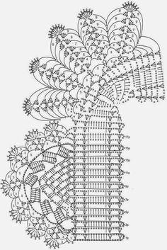 Ivelise Feito à Mão: Barrado De Crochê Com Canto