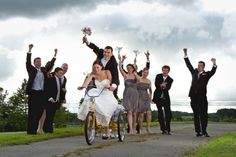 With bent spoke cake-toppers, penny-farthing mounted place cards and cargo bike getaway rides the bicycle is making a creative entrance at weddings around the world.