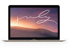 Free, Downloadable Tech Backgrounds for July 2020! Pink Wallpaper Laptop, Dress Your Tech, Tech Background, Blogging, Backgrounds, Island, Free, Islands, Backdrops
