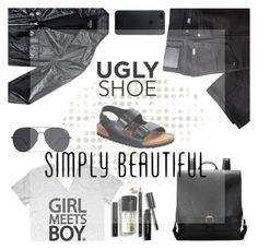 """simple fashion"" by jasmimestefany ❤ liked on Polyvore featuring Bebe, BRAX and Bobbi Brown Cosmetics"