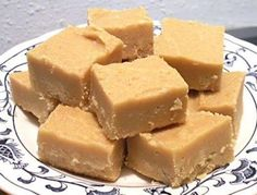 Easiest PB Fudge EVER  2 cups sugar, 1/2 cup milk (I used half and half) 1 tsp. vanilla, 3/4 cup peanut butter.  Bring sugar and milk to a boil. Boil two and a half minutes. Remove from heat and stir in PB and vanilla. That's it. FANTASTICALLY DELICIOUS!!!!
