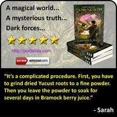 Quote from Sarah, a character from YA Fantasy Adventure novel by Christopher D. Morgan. Book 1 in the Portallas young adult series, this magical coming of age story will delight young and old alike.