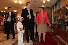 Head of Google Eric Schmidt in Bishkek