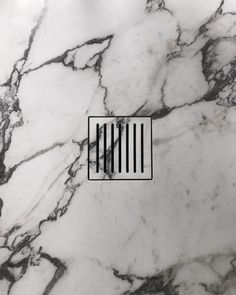 DETAILS  Shower detail by @elenagimenezc   Made by #IlGranito  #marble #shower #drain #detail
