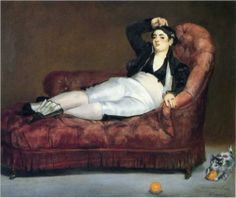 Young Woman Reclining in Spanish Costume - Edouard Manet 1863