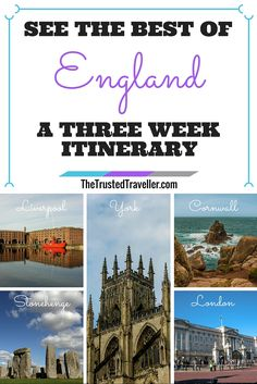 Liverpool, Cornwall, York, London and Stonehenge - Just 5 of the must-see places in our England itinerary - See the Best of England: A Three Week Itinerary - The Trusted Traveller