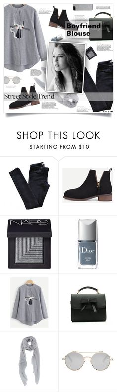 """""""New trend"""" by smajlovicelvira ❤ liked on Polyvore featuring Vanessa Bruno Athé, NARS Cosmetics, Christian Dior, Givenchy and Ted Baker"""