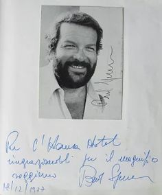 Bud Spencer's teddy-bear look made him easily and immediately likeable.