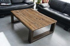 Fabriquée dans notre atelier cette table de salon en métal brossé est fonctionnelle. Robuste, elle donnera une ambiance loft à votre salon contemporain ou classique. Table bas - 13667941