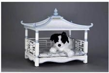 Ummm can I get this made with a door on it?? | Pagoda Dog Bed | LFF Designs | www.facebook.com/LFFdesigns