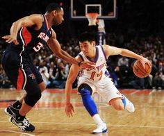 Go if you have the ball, go... Do your LIN. You don't have to fit in