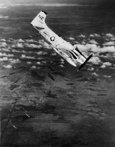 Douglas A-1J Skyraider - dropping bombs over Vietnam.
