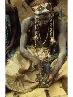 Mary Nooter Roberts, LUBA MEMORY MAN WITH LUKASA (1989)
