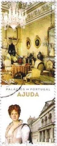 Palácio da Ajuda/ Ajuda Palace; Rainha Maria Pia de Portugal/ Queen Maria Pia of Portugal; 19th century - Dona Maria Pia de Saboia nasceu em Turim a 16 de Outubro de 1847.Filha de Vitor Manuel II e da Arquiduquesa Maria Adelaide de Habsburgo de Lorena, Rainha Portuguesa, Princesa de Itália.