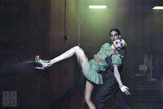 Rie Rasmussen | Steven Klein | Vogue Italy Mar2010 - 3 Sensual Fashion Editorials | Art Exhibits - Anne of Carversville Women's News