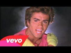 """Wham! - Wake Me Up Before You Go-Go[Top Of The Pops 1984]. với slogan """"Choose life"""" với điều nhắn nhủ rất quan trọng đối với mọi người,nhất là đối với giới trẻ về cuộc sống đẩy lùi ma túy.Nam giới đeo băng đô,trang phục colorful,Nam giới đeo khuyên tai"""