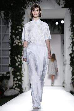 Mulberry Ready To Wear Spring Summer 2014 London