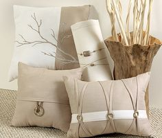 I covet you. Pillow Inspiration, Burlap Lace, Linens And Lace, Perfect Pillow, Style And Grace, Pillow Design, Pin Cushions, Bedroom Wall, Slipcovers