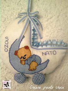 Baby Accessories, Baby Room, Cross Stitch, Nursery, Kids Rugs, Baby Shower, Christmas Ornaments, Holiday Decor, Disney