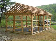 Pole barn with siding... 1 of 2