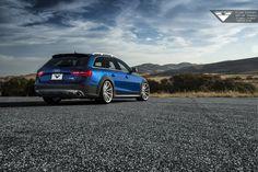 Audi Allroad On Vorsteiner V-FF 102 Flow Forged Wheels
