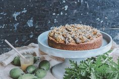 FEIJOA & HONEY SPICE CAKE with Spelt flour