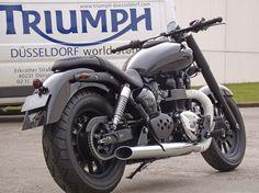 Details zum Custom-Bike Triumph America des Händlers Triumph World Düsseldorf