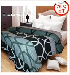 Buy Super Soft Double Bed Blanket at Rs. 299 /-Super Deal 75%Off