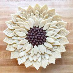 Sunflower pie