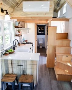"14.8k Likes, 118 Comments - #TinyHouseMovement (@tinyhousemovement) on Instagram: ""Built by: Tru Form Tiny Homes #tinyhousemovement"""