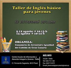 Taller de inglés gratis en Gran Canaria | Canarias Free