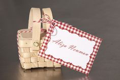 Wedding Place Cards   Picnic Favor Tag  by InvitationToShine, $1.25
