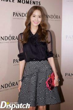 Yoona at Pandora's event in Hongkong