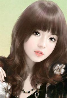 Chinese girl y Beautiful Fantasy Art, Beautiful Anime Girl, Korean Art, Asian Art, Art Chinois, Painting Of Girl, China Girl, Beauty Art, Chinese Art