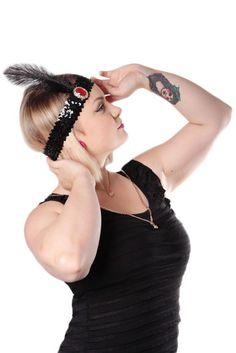 Musta Sulka Pääpanta   Cybershop Halloween 4, Fashion, Moda, Fashion Styles, Fashion Illustrations